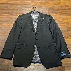 NWT Ermengeglido Zegna Wool Black Sports Coat 40R